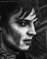 A REAL Vampire by cmloweart