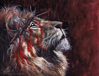 The Lion of Judah by cmloweart