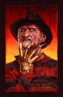 Freddy Krueger by cmloweart
