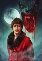 An American Werewolf in London by cmloweart