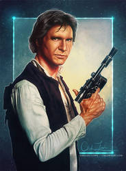 Han Solo by cmloweart