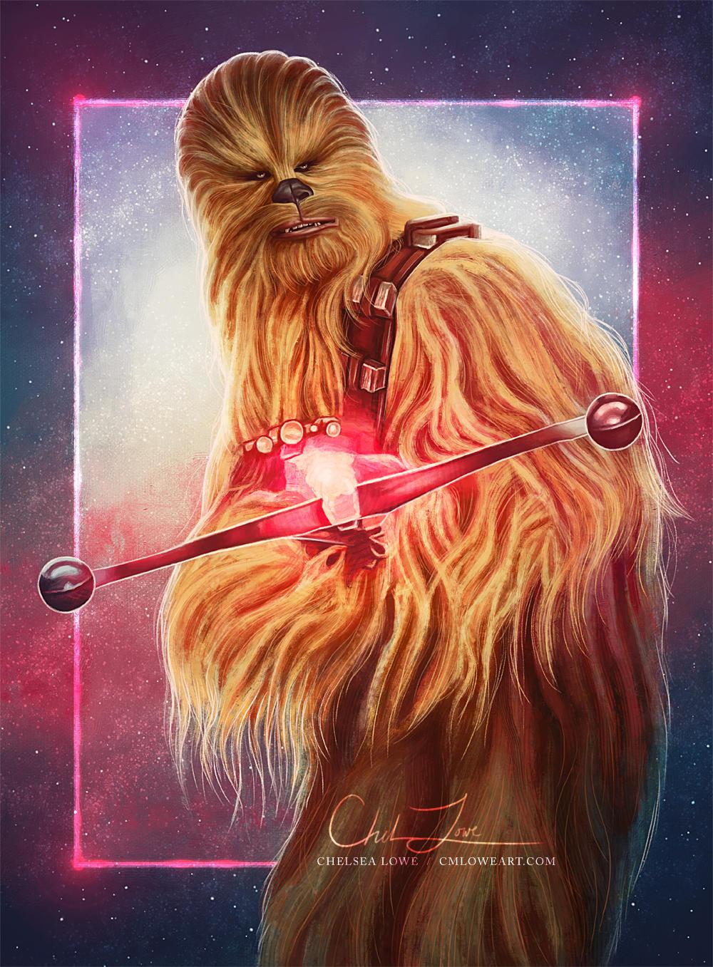 Chewbacca by cmloweart