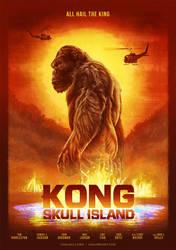 Kong: Skull Island by cmloweart