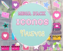 Mega Pack de Iconos Nuevos by IloveCute1220