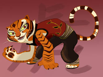 Master Tigress by Graystripe64