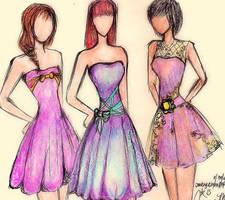Shades of purple by JoyceCruz