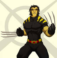 u wolverine colored by Anny-D