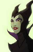 maleficent by Anny-D
