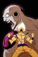 Goku Vs Freezer by Anny-D