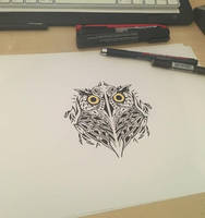 owl design by Anny-D
