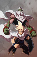 Piccolo And Gohan by Anny-D