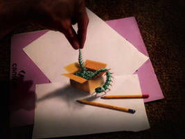 caterpillar in a box by RamonBruin