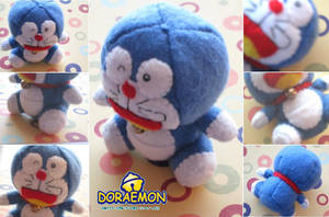 Doraemon Doll Plush + Comment by Mechashinobi-X