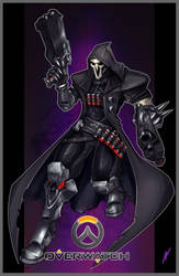 Reaper - Overwatch by Puekkers