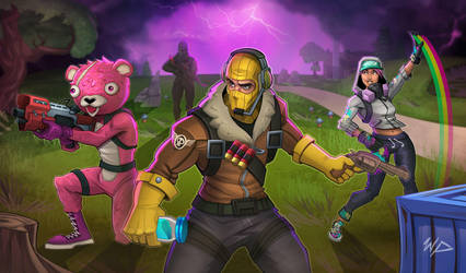 Fortnite Squad by Puekkers