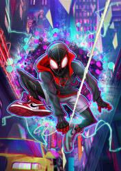 Spider Verse by Puekkers