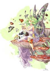 Butterfly fairy by Cyraelh