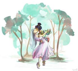 Princesses by Cyraelh