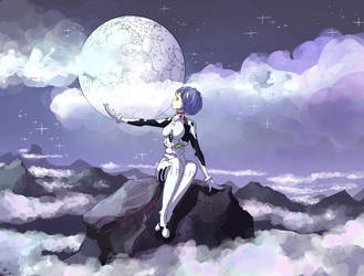 Rei Ayanami by Cyraelh