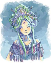 Chinese princess by Cyraelh