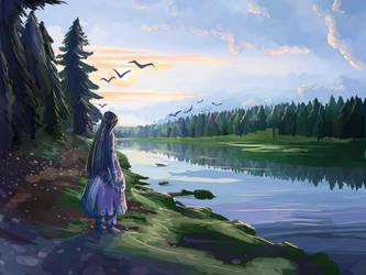 August by Cyraelh