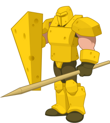 Cheddarian Infantry by ArmenDangerous