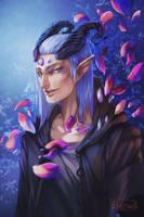 Saula, the Devil by Byassu