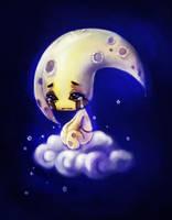 moon by yangtianli