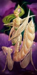 Lady Mantis by yangtianli