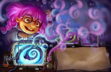 Crazy scientist by yangtianli