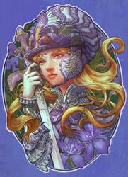 Iris Knight by yangtianli