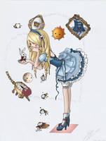 Alice in wonderland by JanemXP