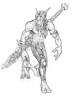 Rindali of the Horde by NightVendiviel