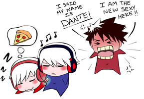 I said my name is Dante by veggwhale