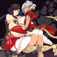 Sol and Phi -Milton Payne's commission- by hataraki-ari