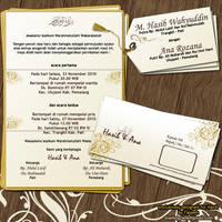 Wedding Invitation Card by faqeeh