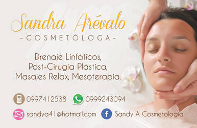 Business card cosmetology by sanwita