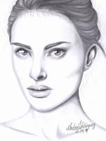 Natalie Portman. by andreavelazquez