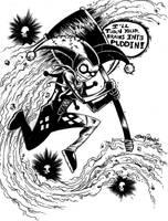 Harley Quinn by JamesWhynotInks