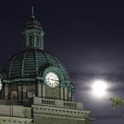 Moon over DeLand by cabridges
