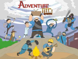 Adventure Team by Py-Bun