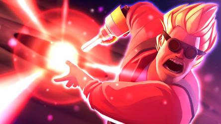 Goku-neer by Py-Bun