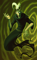 NEVER ANGER A MAGICIAN by Py-Bun