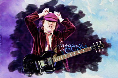 Angus Young - AC/DC by gre-muser