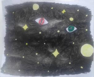 Eyes of Space by kRx1203