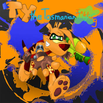 Ty the Tasmanian Inkling by SonicPal