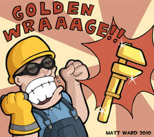 TF2: Golden Wraaage by wibblethefish