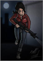 L4D: Zoey by wibblethefish