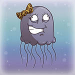 Zoe The Jellyfish by wibblethefish