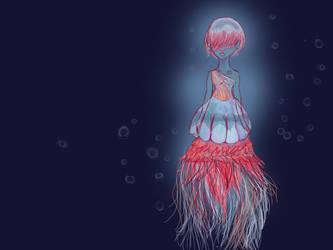 Jellyfishgurl by bleachmanx